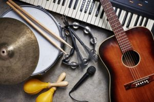 Musical Instruments - The Most Popular Online Learning Courses During Lockdown